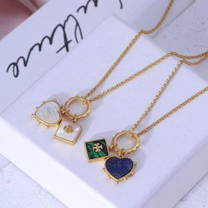Tory Burch Fashion Love Shape Necklace